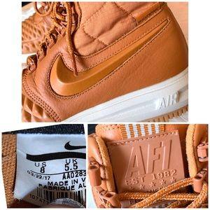 Nike Shoes - Nike Lunar Force 1 Duckboot '17 Cider Sneaker Boot